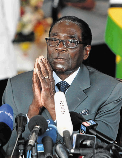 Zimbabwean President Robert Mugabe. File photo.