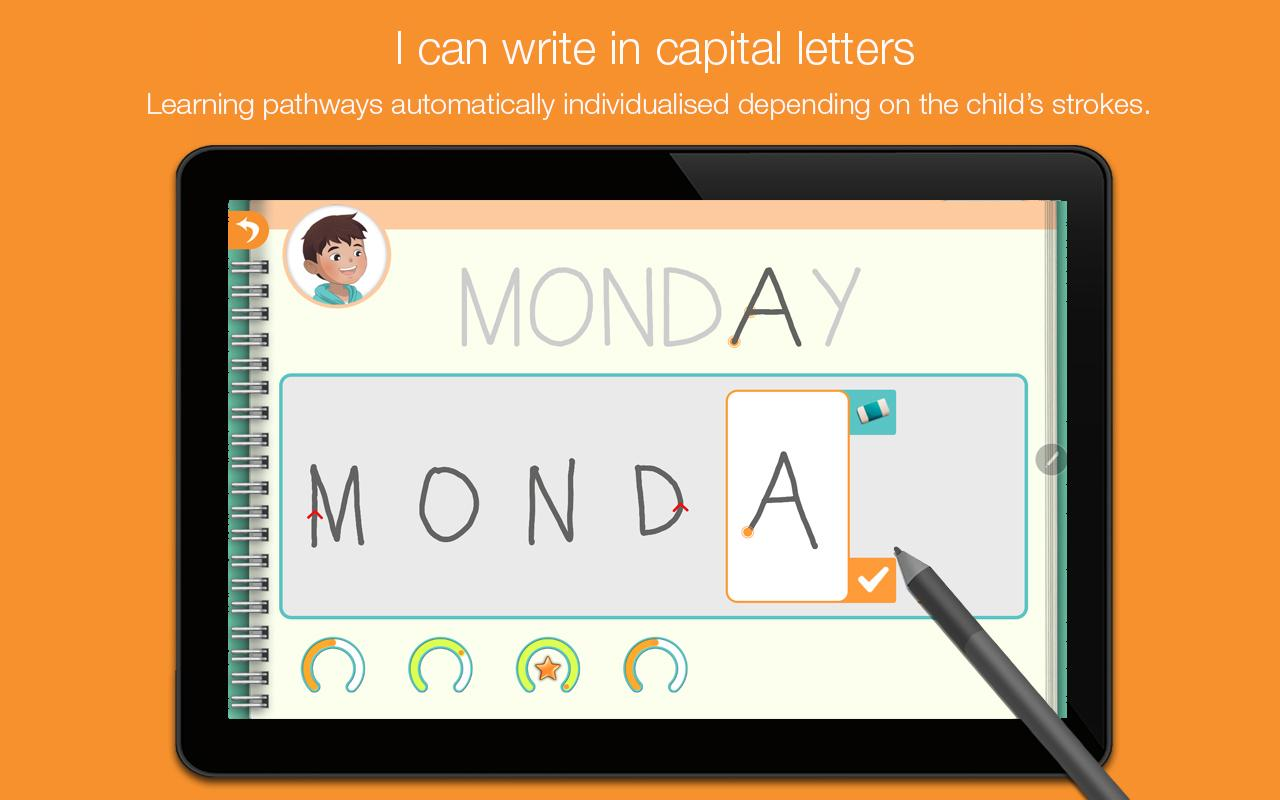 Kaligo: The primary student's handwriting notebook- screenshot