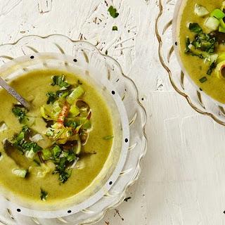 Cucumber Vichyssoise Soup Recipes