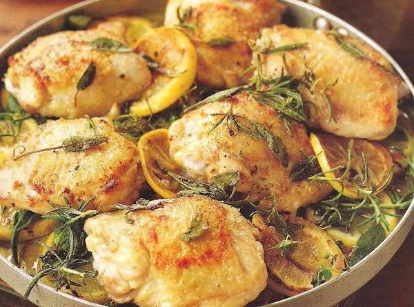 Garlicky Baked Chicken Recipe