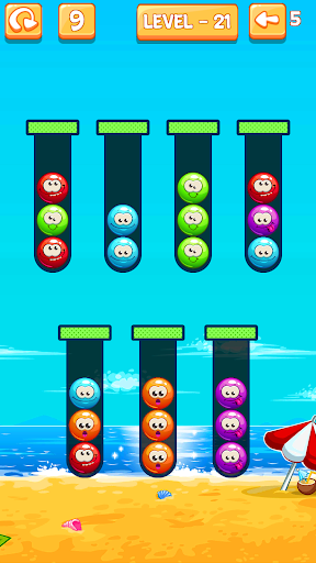 Emoji Sort: Color Puzzle Game screenshot 4