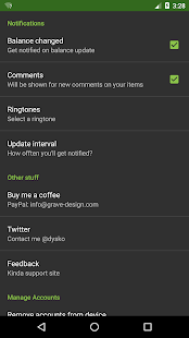 nWallet powered by Envato API- screenshot thumbnail