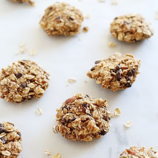 1 Bowl No Bake Chocolate Chip Nut Cookies