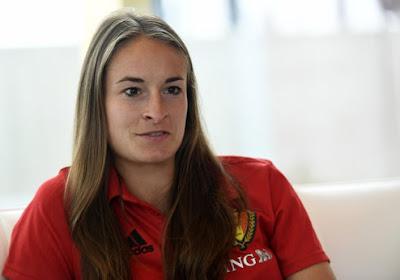 """Tessa Wullaert: """"Eden Hazard était un peu déçu"""""""