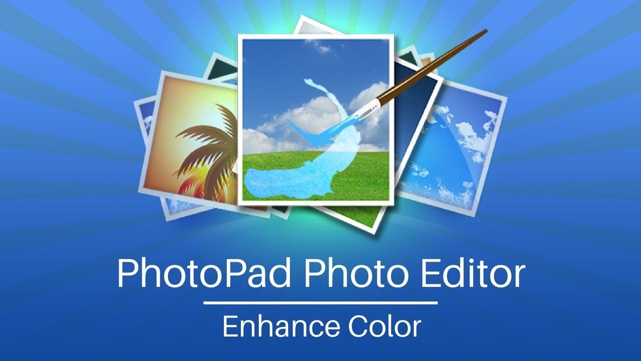 Le logo de PhotoPad, le programme dont je te parle dans cet article !