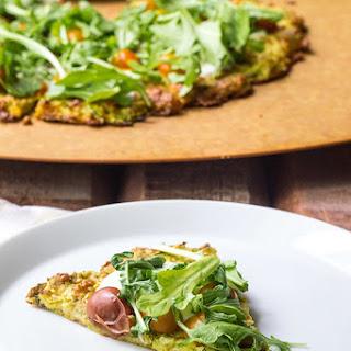 Gluten-Free Pizza on Zucchini-Herb Crust