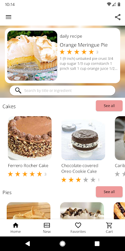 Cake and Baking Recipes Apk 1