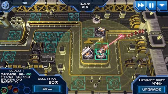 Module TD. Sci-Fi Tower Defense- screenshot thumbnail