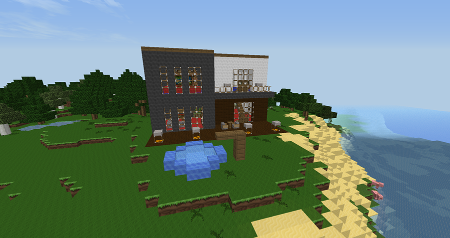 House Building Minecraft Ideas Screenshot