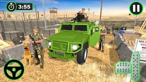 Army Vehicles Transport Simulator:Ship Simulator screenshot 3