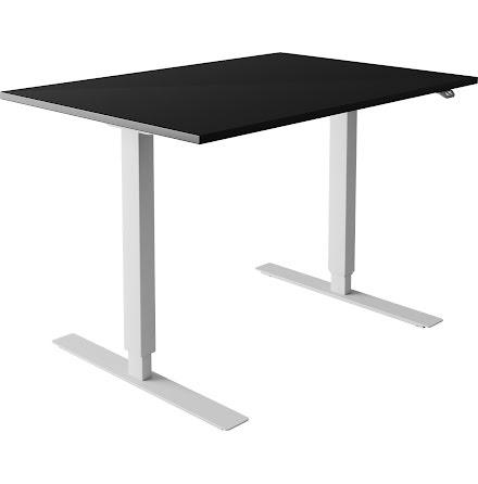Skrivbord el svart 1200x80