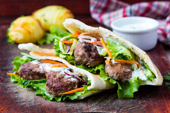 Kebab Sandwiches
