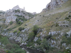 Photo: Town of Matera with a good view of the ravine