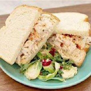 Bacon Ranch Chicken Salad Sandwiches