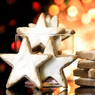 Cinnamon Stars Zimtsterne.