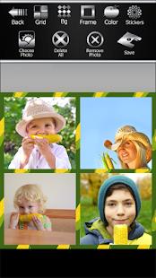 Corn Photo Collage Maker - náhled