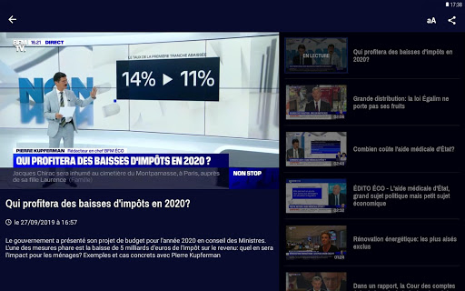 BFMTV - Actualitu00e9s France et monde & alertes info 4.2.5 Screenshots 12