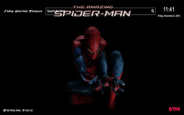 Spiderman Wallpaper for New Tab
