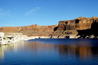 Photo: Cliffs at Escalante Arm confluence