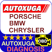 Porsche, BMW, Chrysler 3 scanner cars OBD2 ELM327