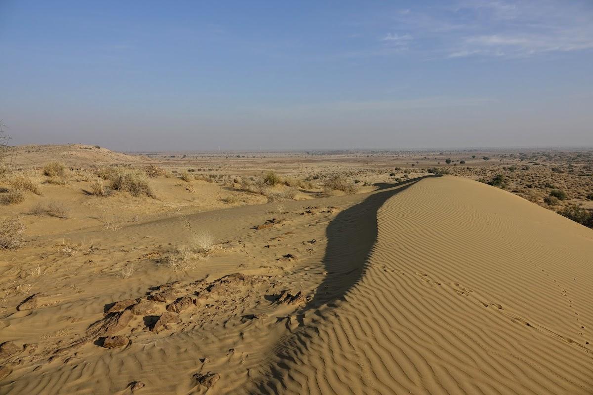 Thar. Desert Camel Trekking Day 3. Khaba Sand Dunes