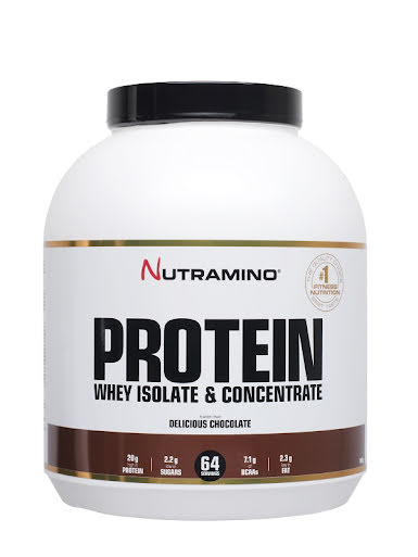 Nutramino Whey Protein 1,8kg - Delicious Chocolate