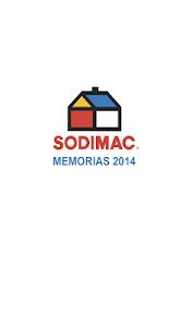 Memoria SODIMAC 2014 screenshot 0