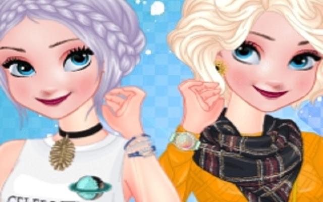 Princess Metallic Skirts