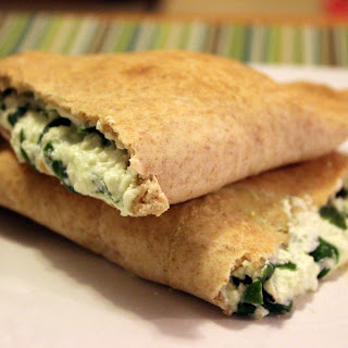 Single-Serving Spinach Calzones.