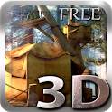 Tree Village 3D Free lwp icon