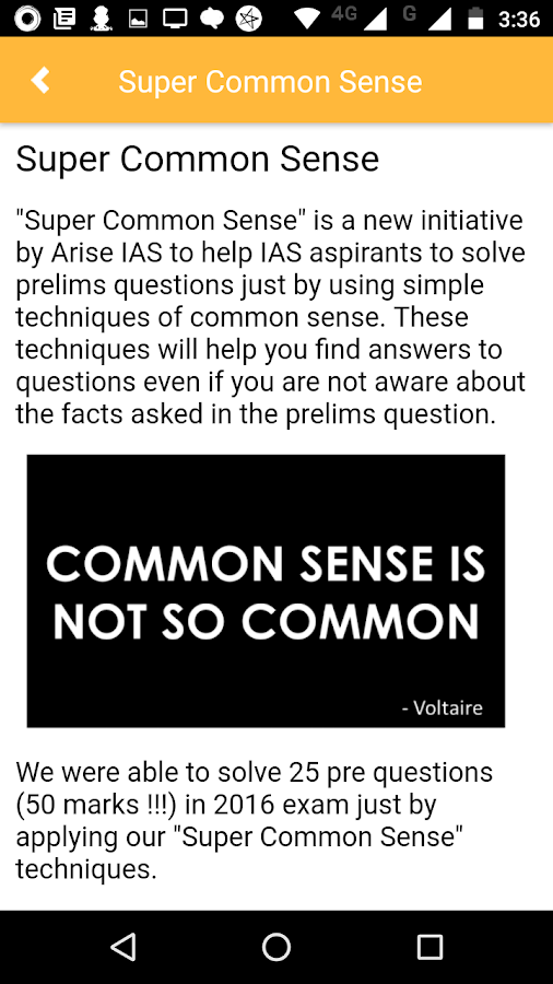 ARISE IAS for Civil Services Exam- screenshot