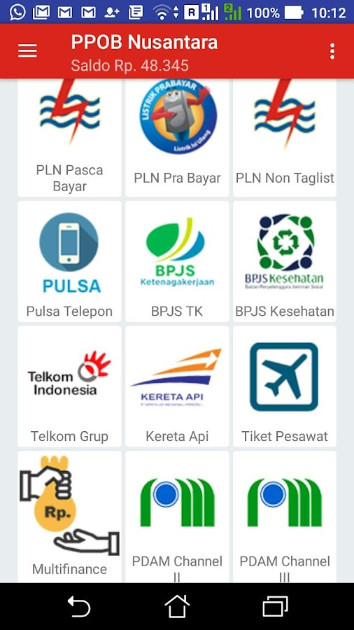 PPOB Nusantara- screenshot