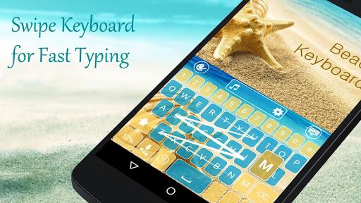 Beach Mega Keyboard Theme