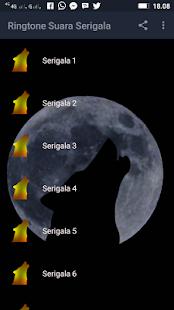 Ringtone Suara Serigala - náhled