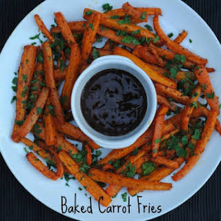 Baked Carrot Fries.