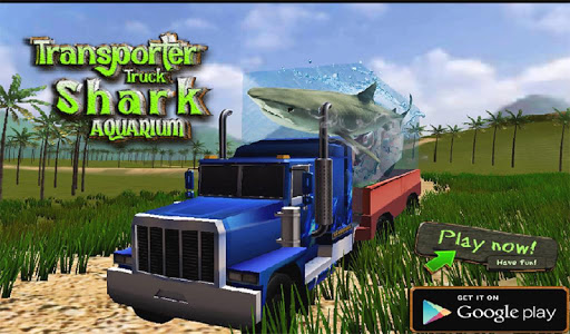 Transport Truck Shark Aquarium screenshot 12