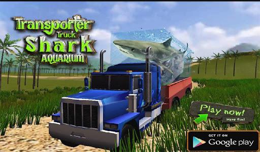 Transport Truck Shark Aquarium screenshot 12