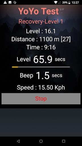 Yo-Yo Intermittent Test ss2