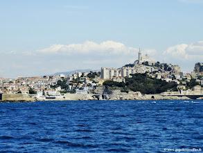 """Photo: #019-Marseille et la """"Bonne Mère""""."""