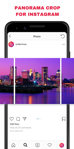 Grid Post - Photo Grid Maker for Instagram Profile screenshots 6