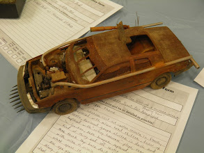 Photo: Nice little post apocalypse auto.