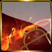 Golden Glass Nova Launcher theme Icon Pack  Icon