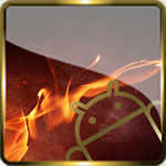 Golden Glass Nova Launcher theme Icon Pack 7.7 (Paid)