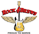 Logo for 1st Annual Rock & Brews Monster Beerfest