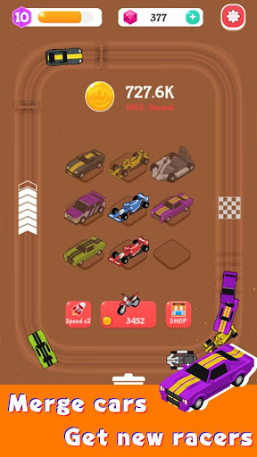 Merge Car Racer - Idle Rally Empire 2.7.0 screenshots 3
