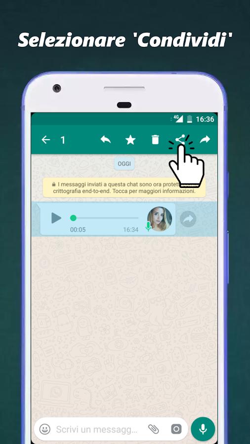 Audio to Text per WhatsApp- screenshot