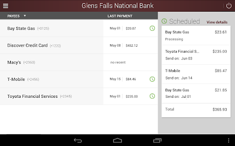 Glens Falls National Bank screenshot 13