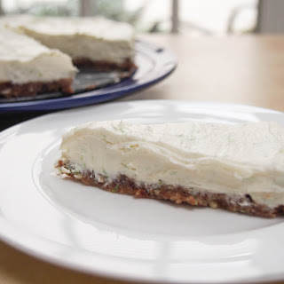 No-cook lime and mascapone cheesecake (GF)