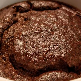 Personal Chocolate Protein Cake.