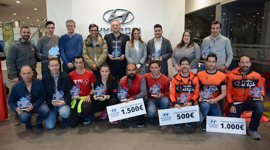 Nicolás Mercader sube al podio en la Hyundai